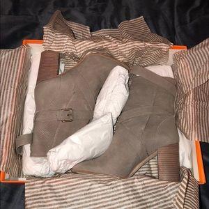 Kate Spade nubuck boots
